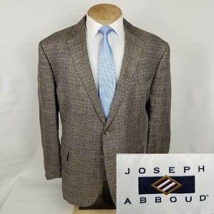 Joseph Abboud Heritage Mens Linen Sport Coat 54R